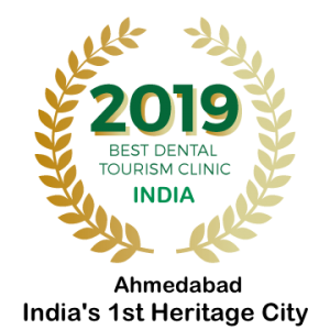 2019 Award Dental Tourism Ahmedabad gujarat India.
